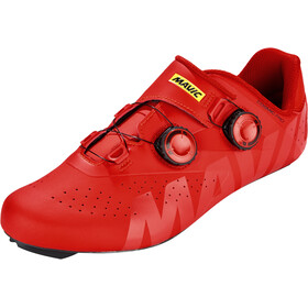 Mavic Cosmic Pro Scarpe, fiery red/fiery red/black